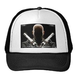 VMK LOGO, ~VMK~ VIRTUAL MOB KILLERS ~VMK~ TRUCKER HAT
