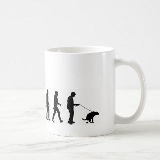 VMO08 evolution dog walking the dog Coffee Mugs