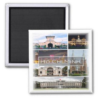 VN * Vietnam - Ho Chi Minh Magnet