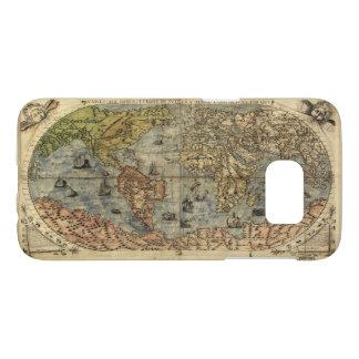 Vniversale descrittione World Map (1565) Samsung Galaxy S7 Case