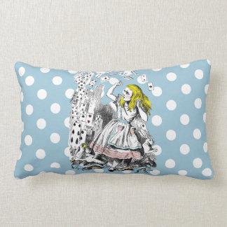 Vntage Alice in Wonderland Art Cushion Throw Pillow