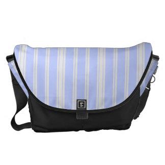 Vntage Mattress Ticking Courier Bag