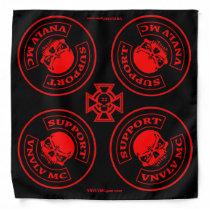 VNVLV MC Support Rag with 22 Skull Bandana