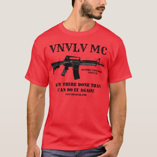VNVLV MC Support Shirt _ Been There Done That