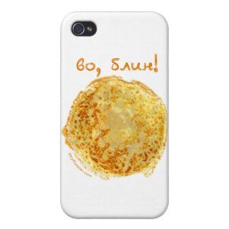 Vo, Blin! Блинчики Case For iPhone 4