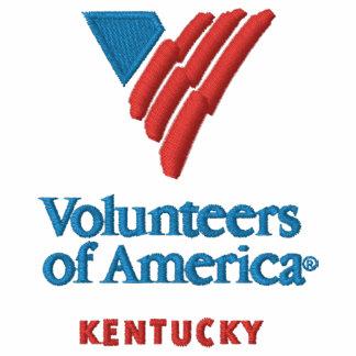 VOA Kentucky Men's Embroidered  Collared Shirt Polo Shirt