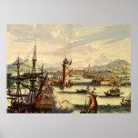 VOC Amsterdam Le Habana 1770, Póster