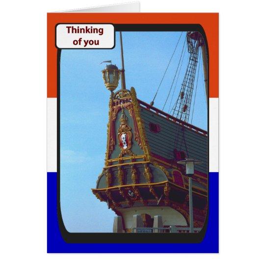 VOC Batavia; Lelystadt, Holland, Card