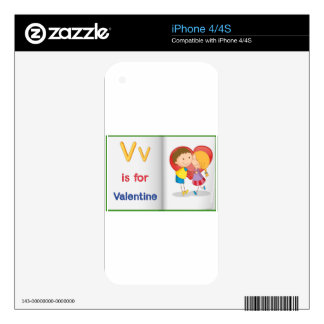 Vocabulary learning sheet iPhone 4 skins