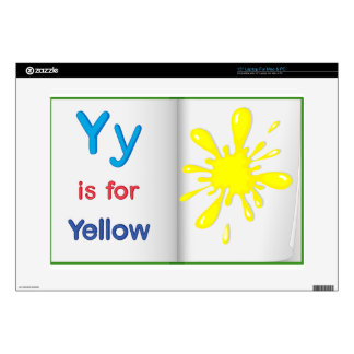 """Vocabulary learning sheet skins for 15"""" laptops"""