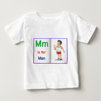 Vocabulary learning sheet infant t-shirt