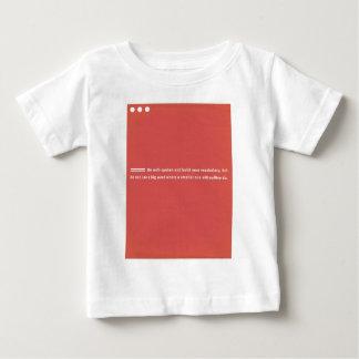 Vocabulary T-shirts