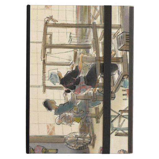 Vocaciones japonesas en las imágenes, tejedores de