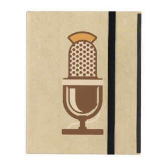 Vocal Artist Microphone iPad Cover