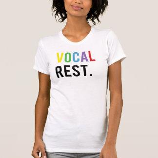 Vocal Rest - Colorful Caps T-Shirt