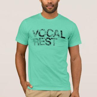 Vocal Rest - Textured Letters T-Shirt