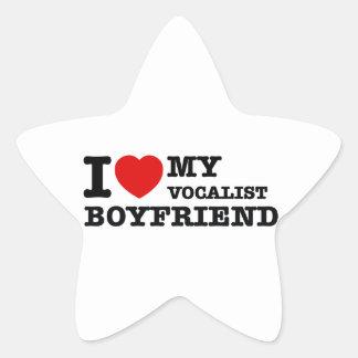Vocalist Boyfriend Designs Star Sticker