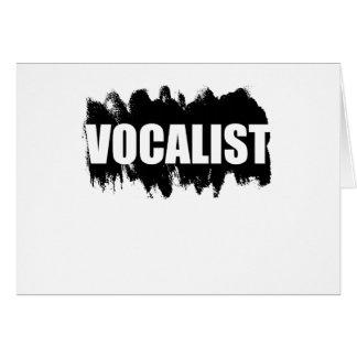 Vocalist Card