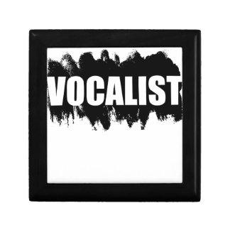 Vocalist Jewelry Box