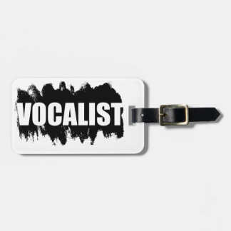 Vocalist Travel Bag Tags