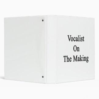 Vocalist On The Making Vinyl Binder