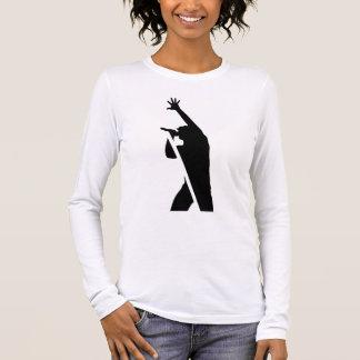 Vocalist Silhouette Long Sleeve T-Shirt