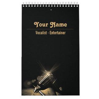 Vocalista - calendario