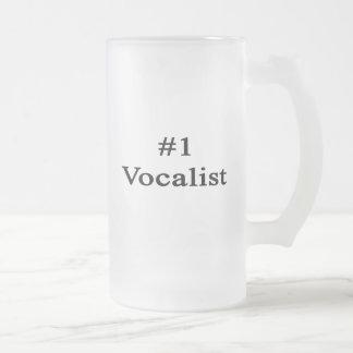 Vocalista del número 1 taza