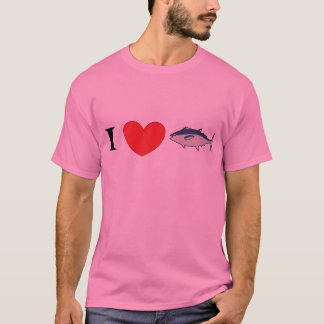 "Vocaloid Luka ""I Love Tuna"" Shirt"