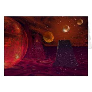 Vocancos on Mars Card