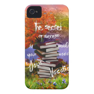 Vocation and vacation at the same time iPhone 4 Case-Mate case