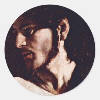 Vocation Of St. Matthew,  By Michelangelo Merisi Stickers