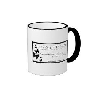 Voces para la pérdida tazas de café