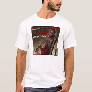 VOCIFEROUS VILLAINS ALBUM COVER T-SHIRT