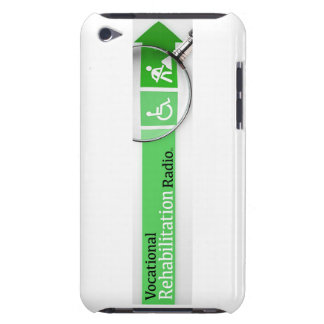 VocRehabRadio Logo iPod Touch Case