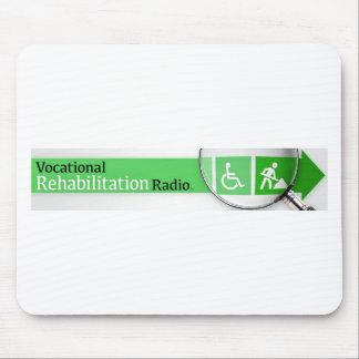 VocRehabRadio Logo Mousepad