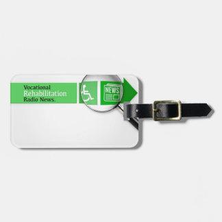 VocRehabRadio News Logo Luggage Tag