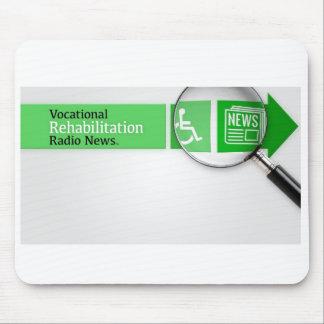 VocRehabRadio News Logo Mousepad
