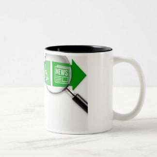VocRehabRadio News Logo Mug