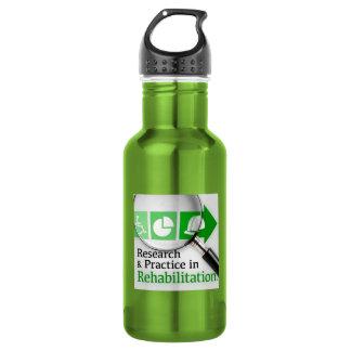 VocRehabRadio Podcast Logo Bottle 18oz Water Bottle