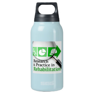 VocRehabRadio Podcast Logo Bottle 10 Oz Insulated SIGG Thermos Water Bottle