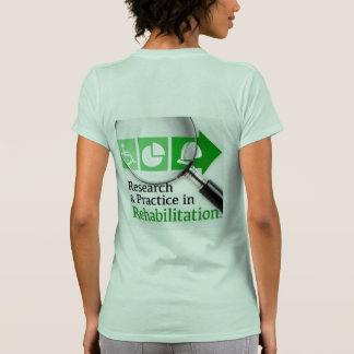 VocRehabRadio Podcast Logo Front-and-Back Tee
