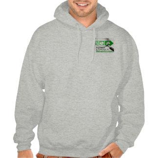 VocRehabRadio Podcast Logo Hooded Sweat Hooded Pullovers