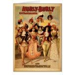 Vodevil - extravagancia corpulenta de Hurly, 1899,