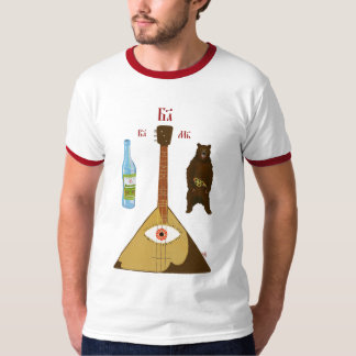 Vodka, Balalaika & Bear T-Shirt