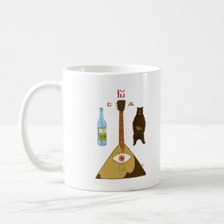 Vodka, Bear and Balalaika Coffee Mug