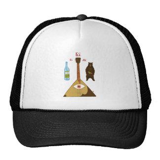 Vodka, Bear and Balalaika Trucker Hat