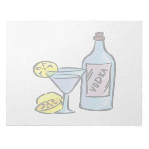 Vodka Blocs De Papel