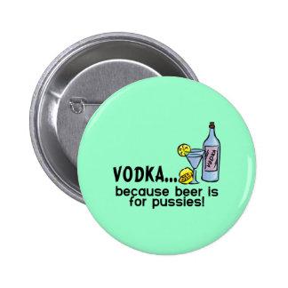 Vodka 2 Inch Round Button