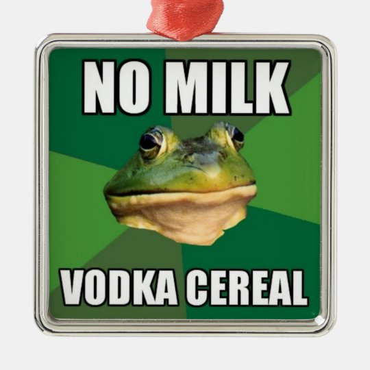 Vodka Cereal Ornament